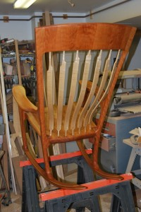 Completed Chair Rear