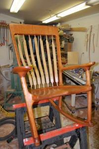 Completed Chair Front
